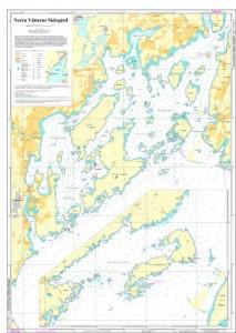 Sjökort Över Norra Vättern
